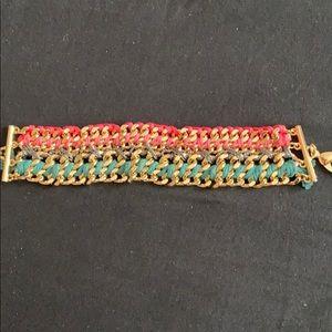 Jewelry - Gold bracelet threading